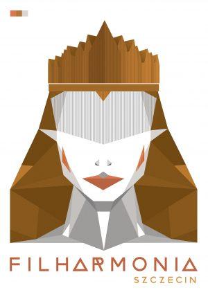 Królowa w koronie kolor złoty i srebny