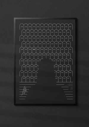 """Plakat """"Fame"""" - Mirek Gurzyński"""