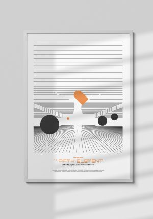 "Plakat ""The Fifth Element"" - Mirek Gurzyński"