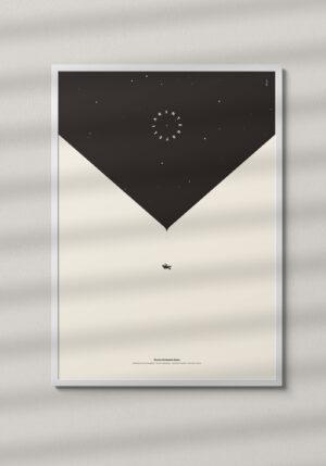 """Plakat """"Interstellar"""" - Mirek Gurzyński"""