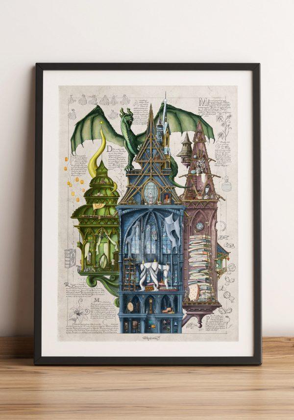 Księżniczki – Dawno temu w wysokiej wieży